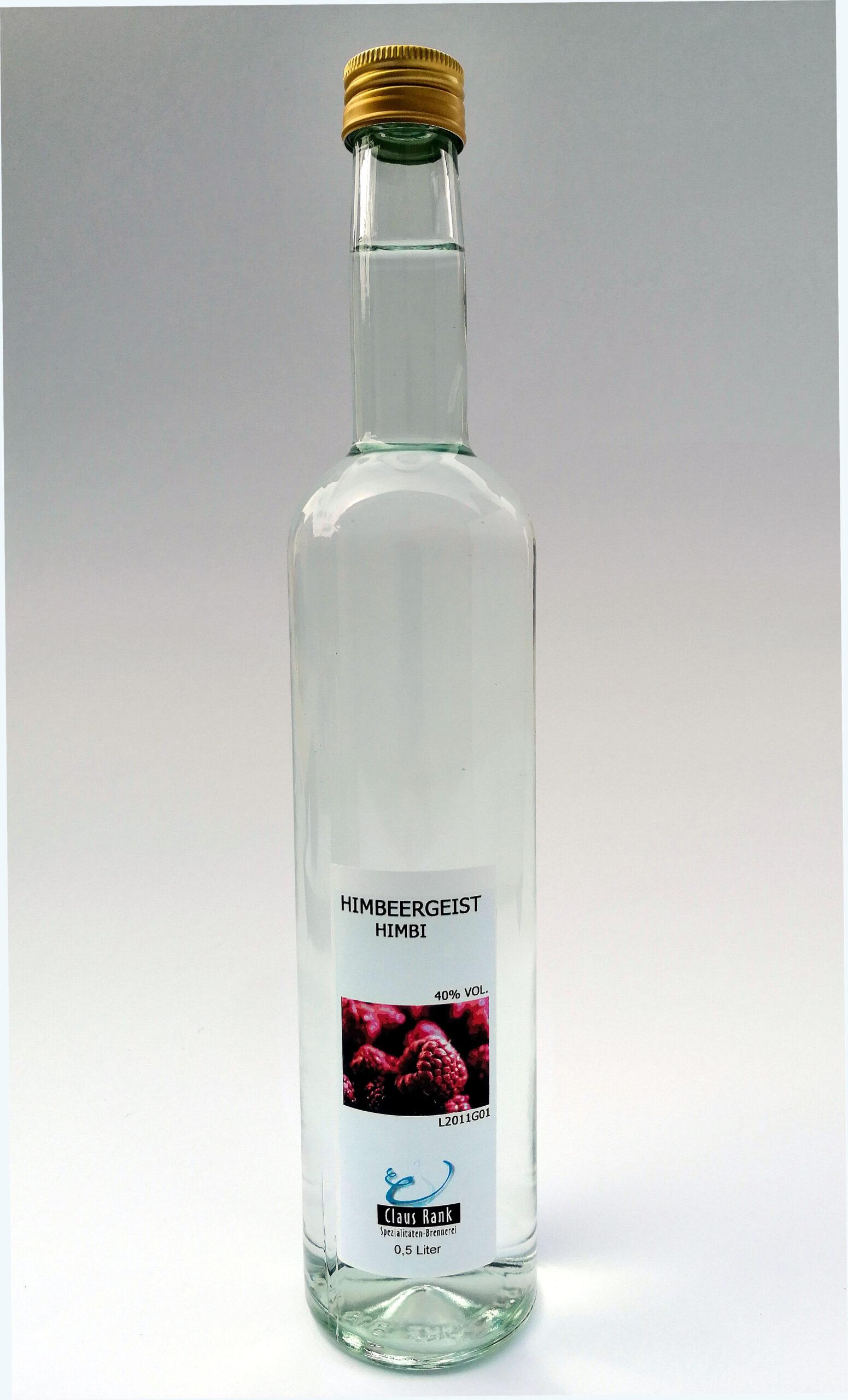Himbeergeist, 0,5 Liter