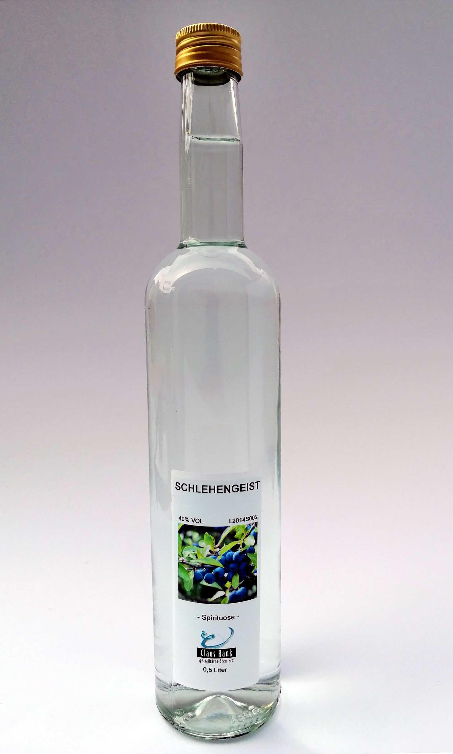 Schlehengeist, 0,5 Liter