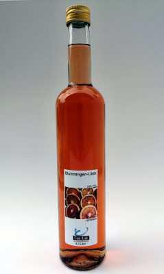 Blutorangenlikör, 0,5 Liter