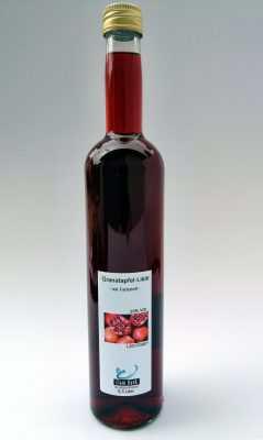 Granatapfellikör, 0,5 Liter