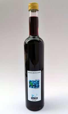 Heidelbeerlikör, 0,5 Liter